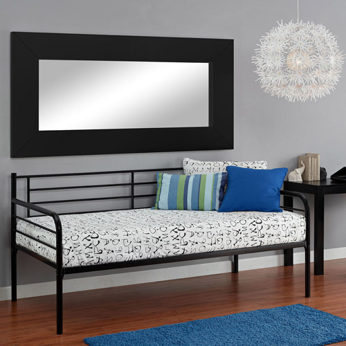 dorel home metal daybed, multiple colors - walmart