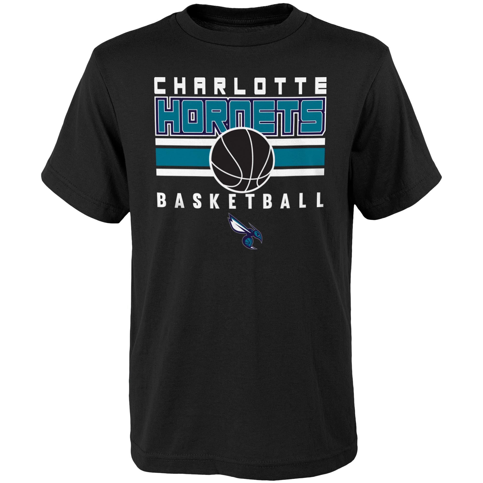 Youth Black Charlotte Hornets Alternate T-Shirt