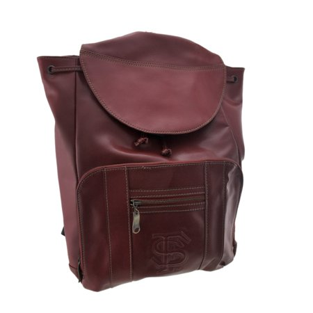 Officially Licensed Florida State University Seminoles Leather Backpack FSU