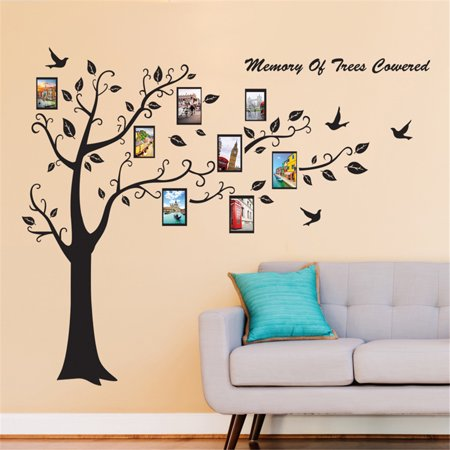 Photo Frame Tree Removable Wall Decal Family Home Sticker Mural Art Home Decor