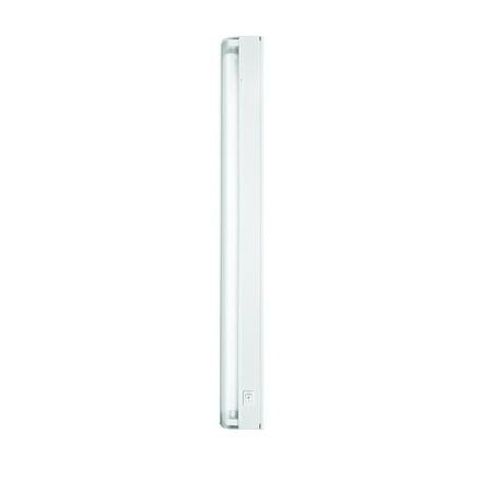 Fluorescent Slim Under Cabinet Lighting - Westek FA423HW 14 Watt  Direct Wire Fluorescent Slim Cabinet Light 22.5 Inch, White