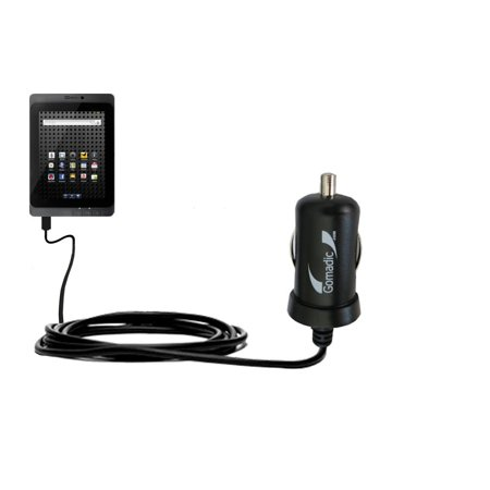 Gomadic Intelligent Compact Car / Auto DC Charger suitable for the BeBook Live - 2A / 10W power at half the size. Uses Gomadic TipExchange Technology