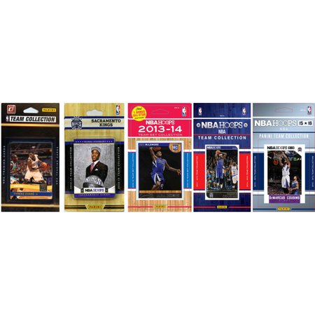 C Collectables Nba Sacramento Kings 5 Different Licensed Trading Card Team Sets