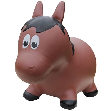 Award Winning Inflatable Bouncing Brown Horse With Pump  Here Come The Farm Hoppers Bringing Hopping  Bouncing  Boinging Fun To Your Childs Day By Farm Hoppers Usa