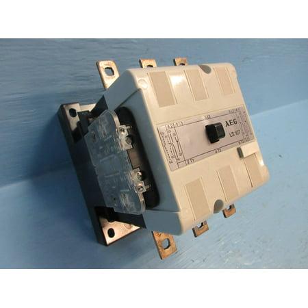 AEG LS-107 Contactor 150 Amp 600V 100HP 120V Coil 3P 3PH 910-337-141-99 150A