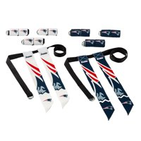 Franklin Sports NFL New England Patriots Youth Flag Football Set