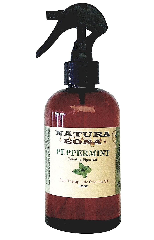 Natura Bona 100 Pure Peppermint Essential Oil Spray 8 2oz Walmart Com Walmart Com