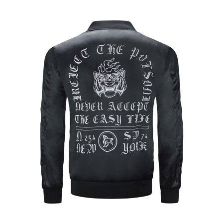 New Men Bomber Jackets Never Accept The Easy Life
