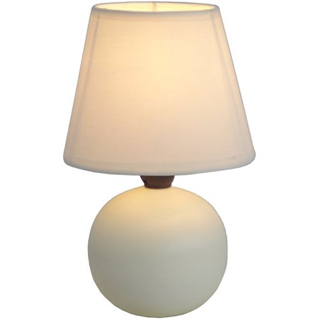 Mini Ceramic Globe Table Lamp