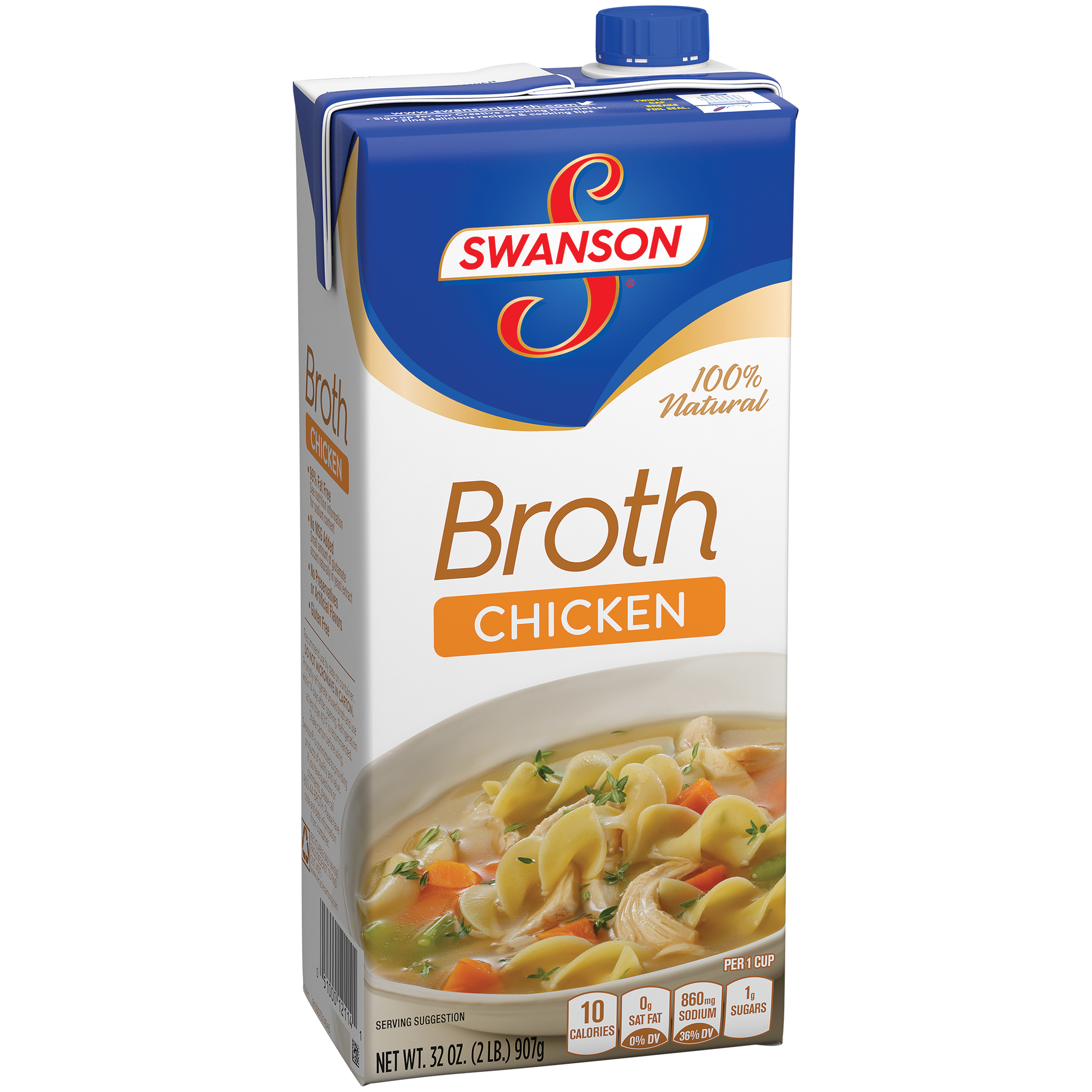 Swanson 100% Natural Chicken Broth 32oz