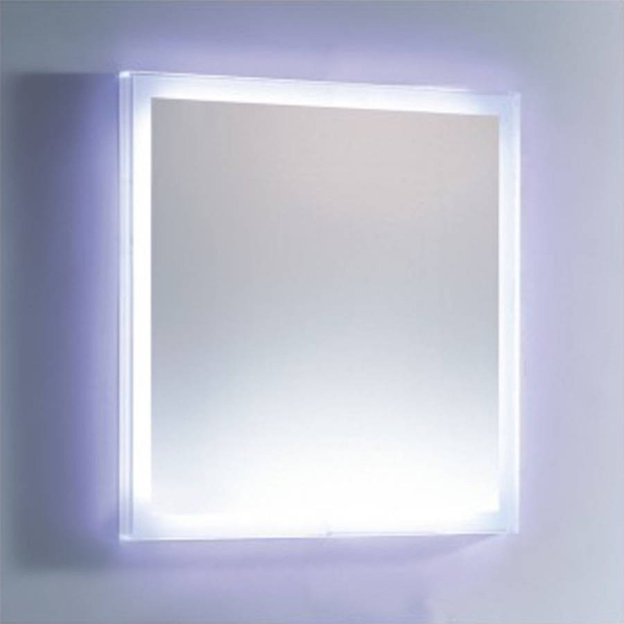 Fab Glass and Mirror Bathroom Wall Mounted High Quality LED Lighted Vanity Mirror by Fab Glass and Mirror