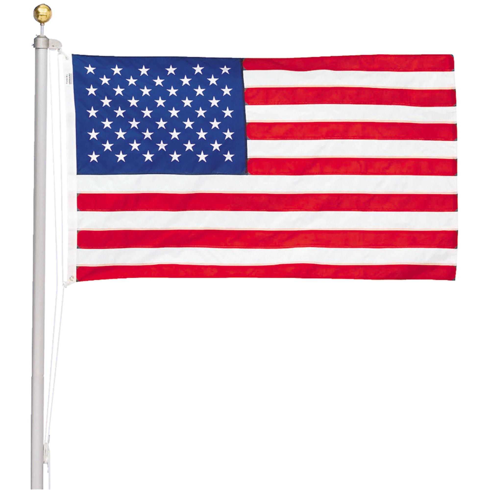 Valley Forge 20 Ft. American Flag Pole Kit by Valley Forge