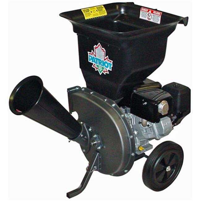 Patriot 10 hp Gas Wood Chipper Leaf Shredder