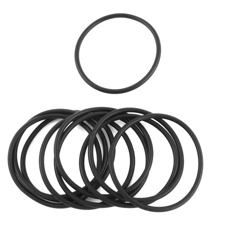 Rubber Oil Seal - 10 Pcs Replacement Rubber Oil Seal Water Resistant O Rings 40mm x 45mm x 2.5mm