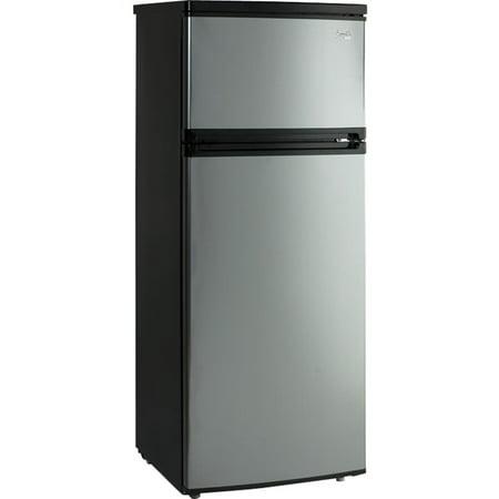 Avanti Cu Ft Apartment Refrigerator Black Platinum Walmart Com
