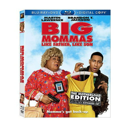 Big Mommas: Like Father, Like Son BLU-RAY Combo Pack By 20th Century Fox Ship from
