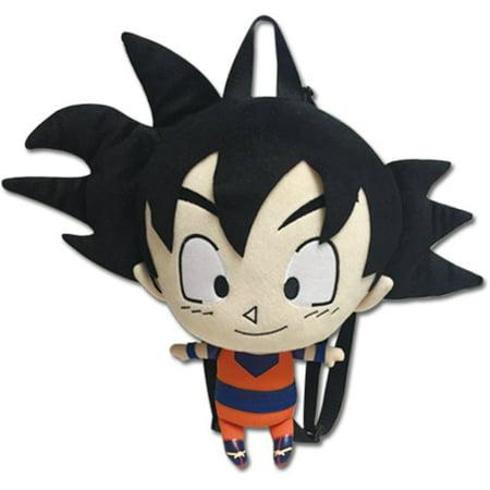 Plush Backpack - Dragon Ball Z - New Goku 12'' Toy Licensed ge84621 (Dragon Ball Z Toys Goku)