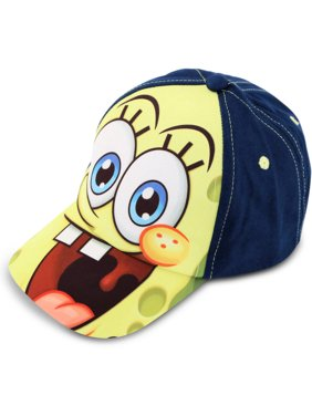 Toddler Boys SpongeBob SquarePants Cotton Baseball Cap, Age 2-5