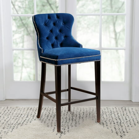Devon & Claire Plaza Tufted Barstool, Multiple - Claire Stool