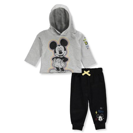 Disney Mickey Mouse Baby Boys' 2-Piece Pants Set - Mickey Mouse Dress Up For Babies