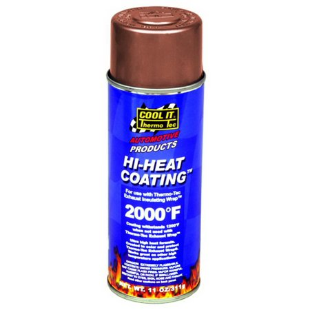 Thermo Tec 12003 High Heat Spray Coating (Nixon 51 30 Chrono High Polish White)