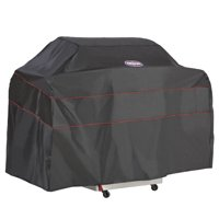 Kingsford™ Black Grill Cover - Durable BBQ Cover, Medium-Small, 52-Inch W, Black