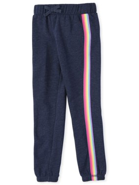 The Children's Place Girls 7-16 Multicolor Side Stripe Active Jogger Sweatpants