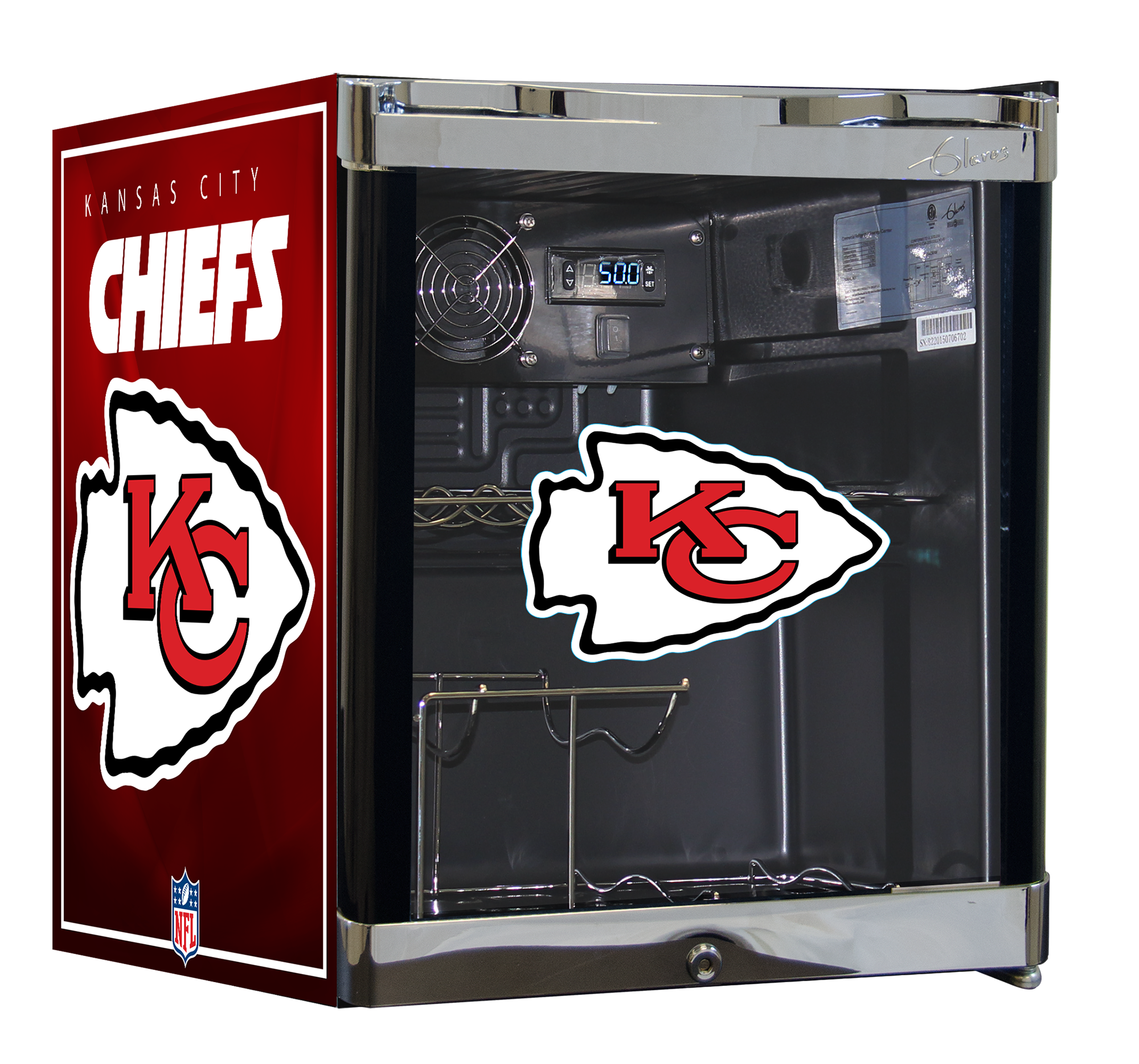 NFL Wine Cooler 1.8 cu ft -Los Angeles Rams