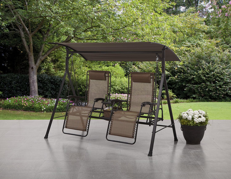 zero gravity chair walmart Mainstays Big and Tall Zero Gravity Outdoor Reclining Porch Swing  zero gravity chair walmart
