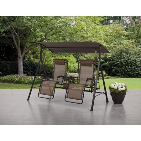 Mainstays And Tall Zero Gravity Outdoor Reclining Porch Swing
