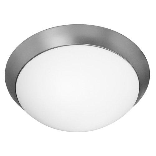 Access Lighting 20626LEDD Ceiling Fixtures Cobalt Indoor Lighting Flush Mount ;Brushed Steel   Opal by