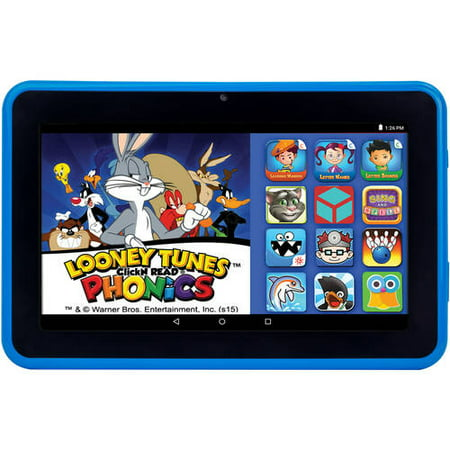 Highq Learning Tab 7   Kids Tablet 16Gb Intel Atom Processor Preloaded With Learning Apps   Games Blue
