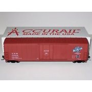 Accurail 5820 HO Chicago and Norhwestern Plug-Door Boxcar #152036