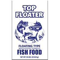 SUNSHINE MILLS Top Floater Fish Food, 50-Lbs. 10032 ()