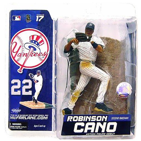 Robinson Cano Action Figure White Jersey MLB New York Yankees