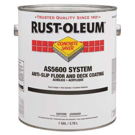 Rust-Oleum Anti-Slip Floor and Deck Coating, Gray - Rust Oleum Floor Coating