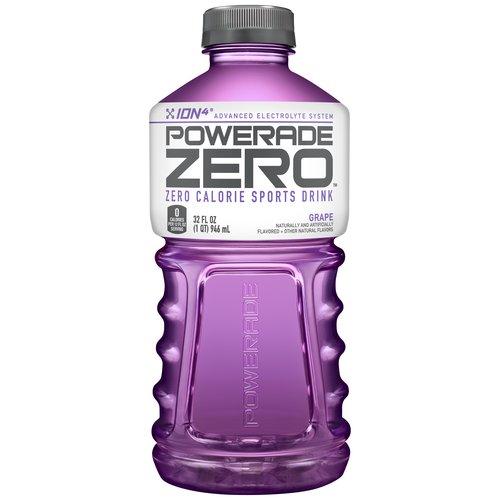 Powerade Zero Grape Sports Drink, 32 Fl. Oz.