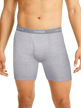 Hanes Men's Tagless Boxer Briefs, 10 pack