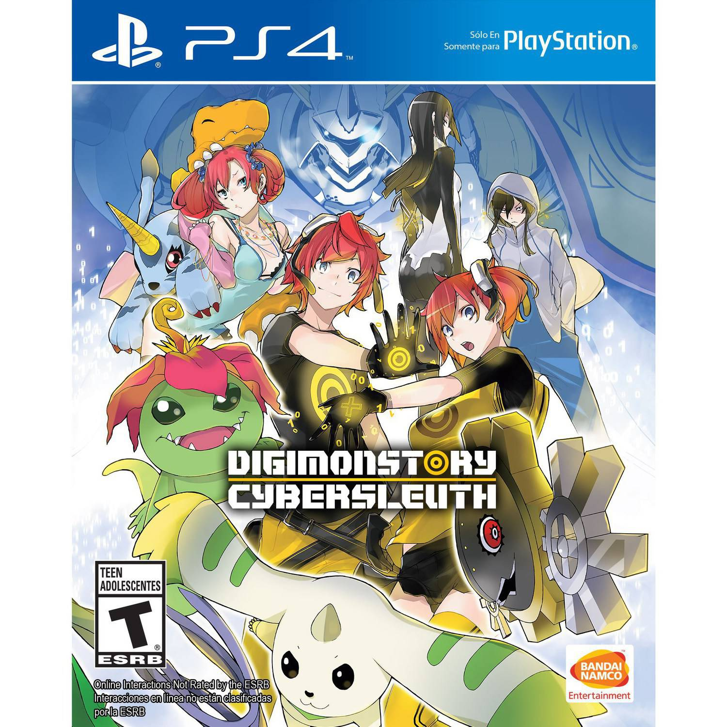 Digimon Story Cyber Sleuth, Bandai/Namco, PlayStation 4, 722674120456