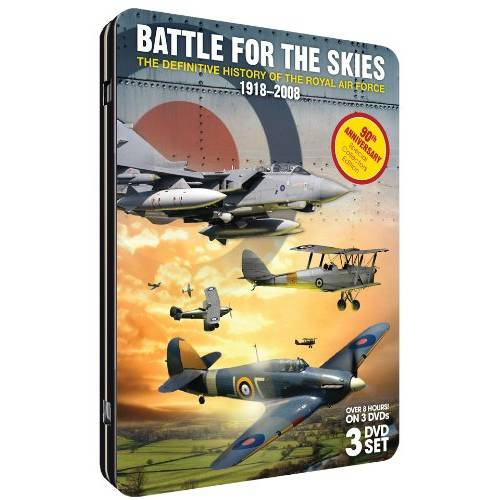 Battle For The Skies: The Definitive History Of The Royal Air Force 1918-2008 (Tin Case)
