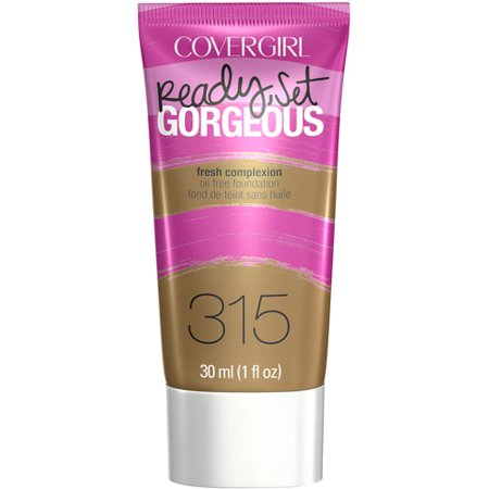 COVERGIRL Ready, Set Gorgeous Liquid Makeup Foundation, Tawny, 1 Fl Oz