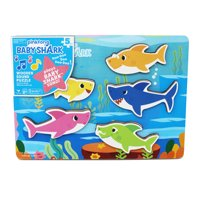 Pinkfong Baby Shark Chunky Wood Sound Puzzle - Plays Baby Shark Song