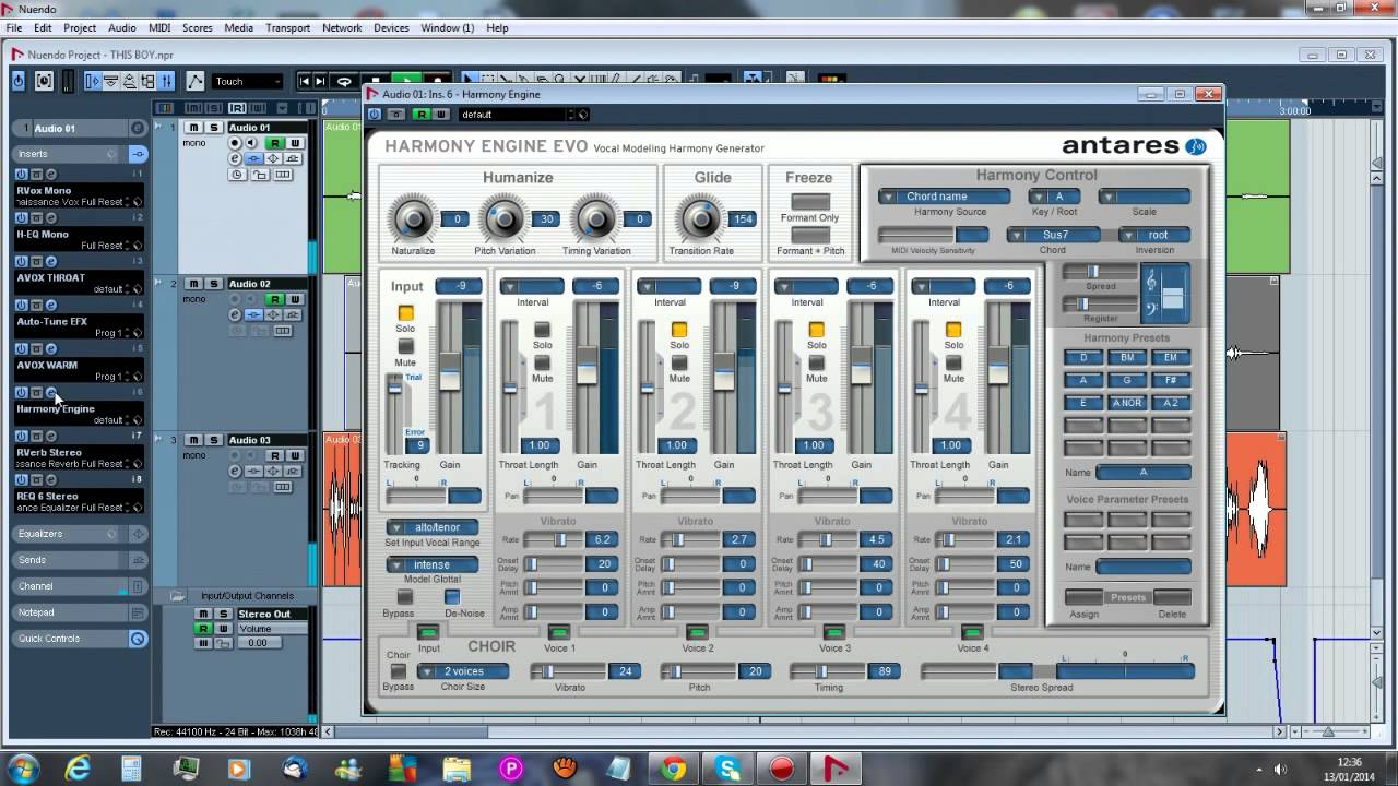Antares Harmony Engine Evo software download by Antares