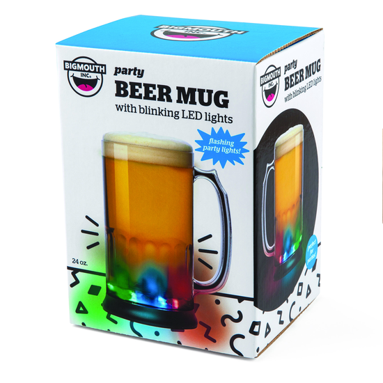 Celebrations Flashing Led Beer Mug