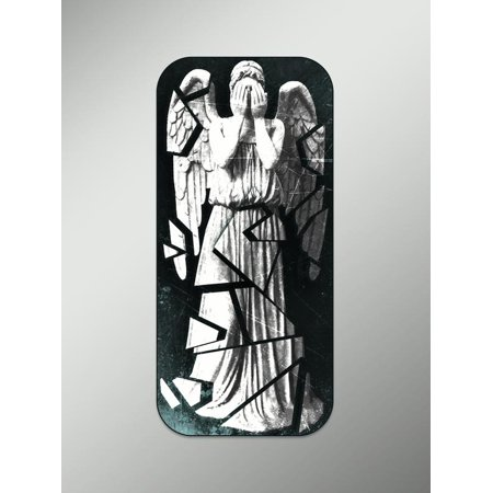 Weeping Angel Doctor Who Vinyl Decals Stickers (Two Pack) | Cars Trucks Vans Walls Laptops Cups | Printed | 2 - 5.5 inch Decals | KCD935