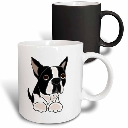 3dRose Cute Boston Terrier Puppy Dog Original - Magic Transforming Mug,