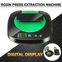 Digital Display Rosin Press Oil Wax Extractor Heat Press Heating Tool Oil Extracting Machine Portable