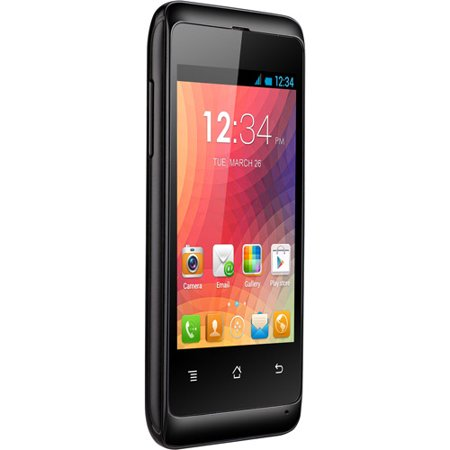 BLU Star JR S350 Unlocked GSM DUAL-SIM Android Cell Phone (Black)