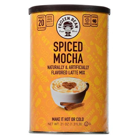 Frozen Bean Spiced Mocha Deluxe Drink Mix, 21 oz