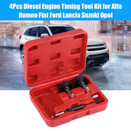 4pcs Diesel Engine Timing Locking Tool Kit for Alfa Romeo Fiat Ford Lancia Suzuki